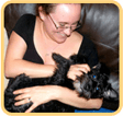 Pedigree® Woman with dog picture