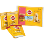Puppy wet pouch with jelly for multipack